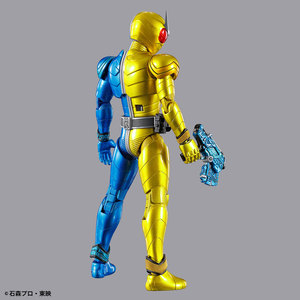 Image 3 - PrettyAngel настоящий BANDAI SPIRITS фигура rise стандарт Kamen Rider W Luna триггер пластиковая модель фигурку