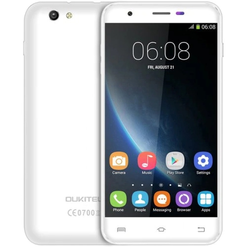 OUKITEL U7 PRO SmartPhone 1GB RAM 8GB ROM Telephone <font><b>MTK6580</b></font> <font><b>Quad</b></font> <font><b>Core</b></font> 1.3GHz Android 5.1 8.0MP Camera 3G GPS 5.5 Inch CellPhone image
