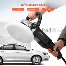 1400W Electric Car Waxing Polisher Machine Handheld M14 Polisher 180mm Car Paint Care Variable Speed Household Polishing tool