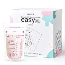 NCVI Breastmilk Storage Bags,180 Counts 6 Oz Milk Freezer Bags for Long Term Breastfeeding Storage Imported From Korea,BPA Free
