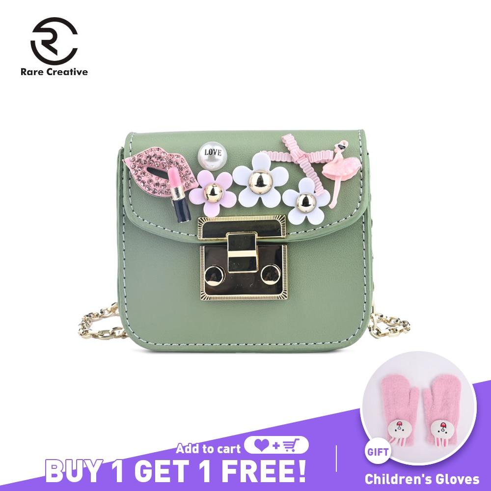 RARE CREATIVE PU Leather Mini Shoulder Bags High Quality Colorful Pearl Bag DIY Designer Purse For Kids Fashion Brand PS8006