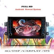 2 DIN Android10.0 Autoradio Pour Suzuki SX4 2006 2007 08 -2013 Navigation GPS Multimédia Lecteur Vidéo DVD Tête Unité Magnétophone