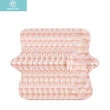 Happyflute 10pcs/set Cloth Menstrual Pad Mama Sanitary Reusable Soft Washable Bamboo Terry Napkins