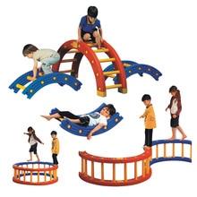 YLWCNN Kids Balance Plate Children Sensory Training Equipment Toys Balance Plank Single-Plank Bridge Early Education