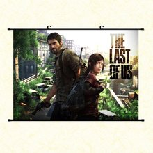 Game The Last of Us Canvas Print Scroll Paintings Poster Home Decor Wall Decorative 40x60cm