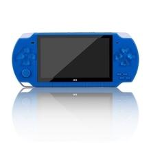 4,3 дюймов X6 плюс двойной рокер 8G ручная Ретро игровая консоль видео MP5 TF карта для GBA/NES 1000 игр