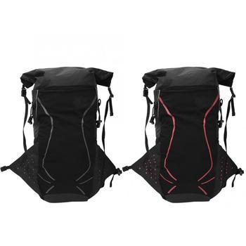 18L nylonowa torba wspinaczkowa wodoodporny plecak na rower Outdoor Sports wspinaczka górska torba na ramię torba turystyczna tanie i dobre opinie YOSOO CN (pochodzenie) Climbing Bag Unisex Cycling Backpack Miękka osłona Other Black Black Red Approx 30x24x3cm