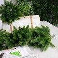 5 шт Искусственные сосновые ветки поддельные растения аксессуары для рождественской елки DIY Искусственные цветы украшения Рождественская ...