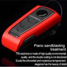 Fineblue f910 esportes bluetooth fones de ouvido sem fio com microfone mãos-livres vibrational chamada 5 horas tempo de chamada