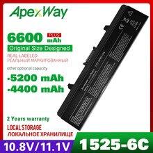 11.1V bateria do portátil Para DELL Inspiron 1525 1526 1545 1546 1440 1750 0CR693 0GW240 0GW241 0GW252 0HP277 0UK716 0WK371 WK371