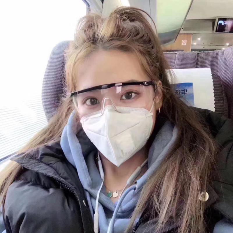 New Safety Glasses Goggles Anti-wind Sand  UV Fog Shock Dust Resistant Transparent Glasses Eye Protective Men Women Glasses
