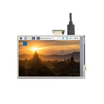 New 4 inch USB HDMI TFT LCD Display Touch Screen For Raspberry Pi 4 Model B 3B+ 3B raspberry pi 3b 5 inch lcd hdmi touch scree 800x480 tft 5 display screen with acrylic case for raspberry pi 2 raspberry pi 3b