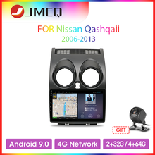 JMCQ T9 Android 9,0 Auto Radio Für Nissan Qashqai 1 J10 2006-2013 2 din 4G + 64G DSP RDS GPS Navigaion Multimedia Video Player