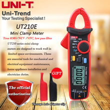 UNI-T UT210E AC/DC 100A True RMS Hohe Präzision Mini Digital Clamp Multimeter/NCV/VFC Funktion/ null Messung
