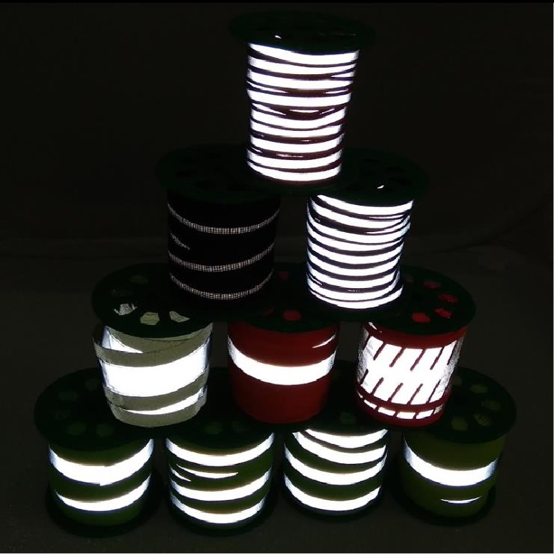 2.0cm 2.5cm 5cm Reflective Strip Sewing For Bag Clothing Reflective Material Accessories Webbing
