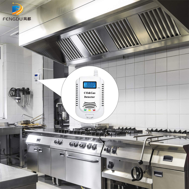 Ultimate Sale2 in 1 Gas Detector, Plug-in Home Natural Gas/Methane/Propane/CO Alarm, Leak Sensor Detector