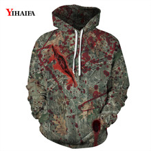 3D Print Sweatshirt Graphic Men Women Halloween Hip Hop Hoodies Autumn Streetwear Pullover Tracksuit Couples Clothes
