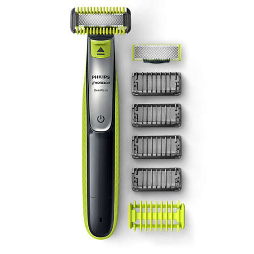 Philips Electric Shaver OneBlade QP2630 Wet And Dry Rechargeable Electric Razor With Li-lon Battery 100-240V For The Men
