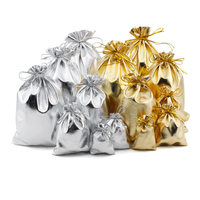 1000pcs Organza Jewelry Gift Wedding Bag Pouch for Christmas Decor 10x15cm Gold Silver Red Gift Bag Wholesale