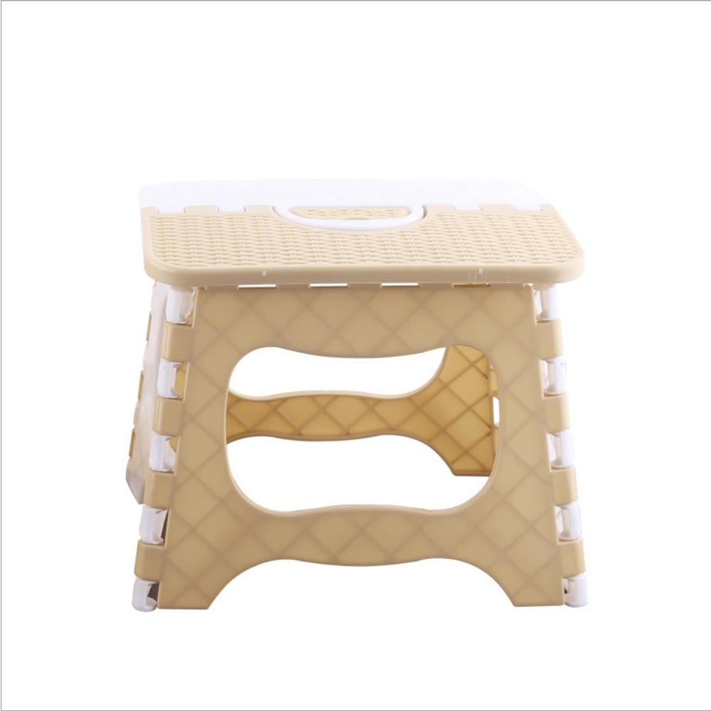 Folding Stool Kids Stool Plastic Stool Folding Small Chair Children Folding Stool Portable Outdoor Chair