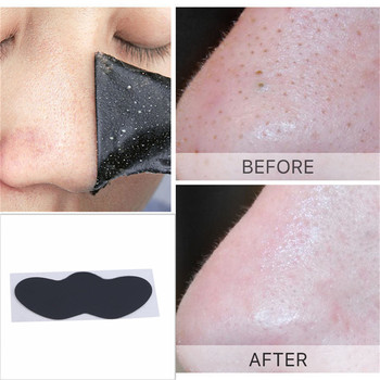 10PCS Charcoal Expert Blackhead Remove Nose Mask Blackheads Strips Removal Hydrating Pores Cleaning Bamboo Black Mask Sticker