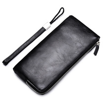 leather wallet mini mens New Products Durable Slim Long Man Leather Wallet  marvel bts