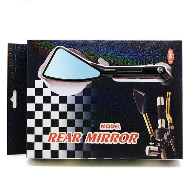 CNC Machining Process Aluminum for Honda Varadero Xl1000 Scrambler Motorcycle Z250 Yamaha Motorcycle Mirrors Side mirror