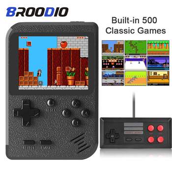 portable mini handheld game players retro game console 32 bit built in classic games for children Portable Video Game Console Built-in 500 Classic Games Handheld MIni Games Player Retro Game Console For PSP Support TV Output