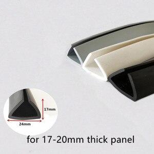 Rubber U Sealing Strip 17x24mm
