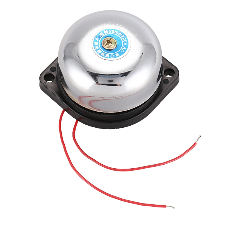 55mm Diameter Fire Alarm Electric Gong Bell AC 220V
