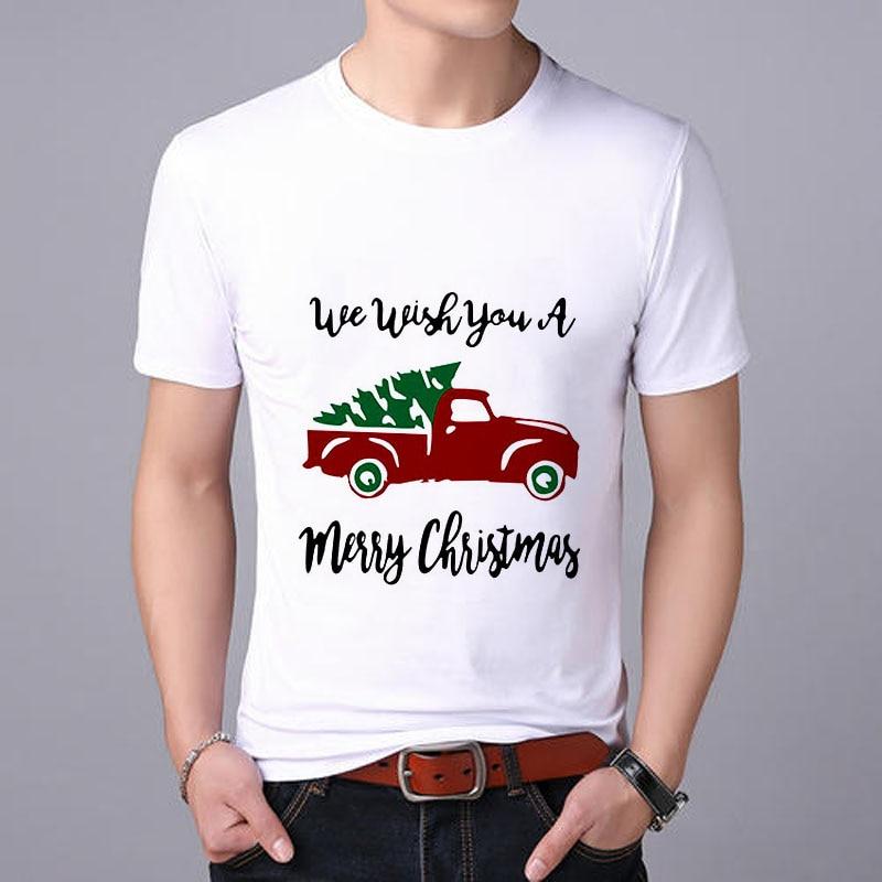 Lus Los 2019, camiseta divertida de moda de Navidad para hombre, camiseta Cool Casual pride, camiseta para hombre, nuevas camisetas de moda, tops