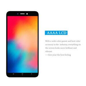 Image 2 - PINZHENG オリジナル Xiaomi Redmi 4X 表示画面 Xiaomi Redmi 用 4x 表示フレームの交換デジタイザアセンブリ