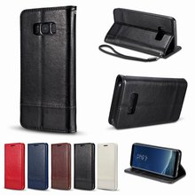 Leather Magnetic Cover for Samsung note 9 Flip Case 8 case Wallet Phone Shell on 5