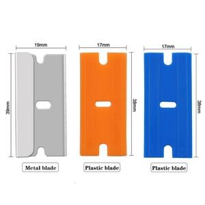 Image 5 - 면도기 스크레이퍼 도구 자동차 창 유리 Vinly 필름 스티커 색조 설치 접착제 클리너 전화 태블릿 Sreen 스퀴지 블레이드