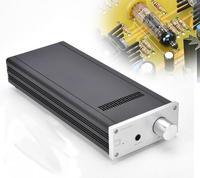Tüketici Elektroniği'ten Amplifikatör'de 2019 Yeni E100 Lehmann 6N16 tüp kulaklık amplifikatörü HiFi tüp ses preamplifikatör