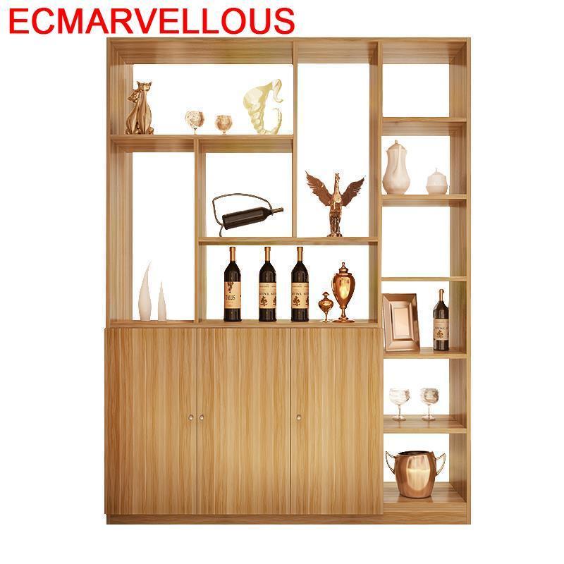 Adega Vinho Meuble Vetrinetta Da Esposizione Living Room Shelves Table Storage Salon Shelf Furniture Mueble Bar Wine Cabinet