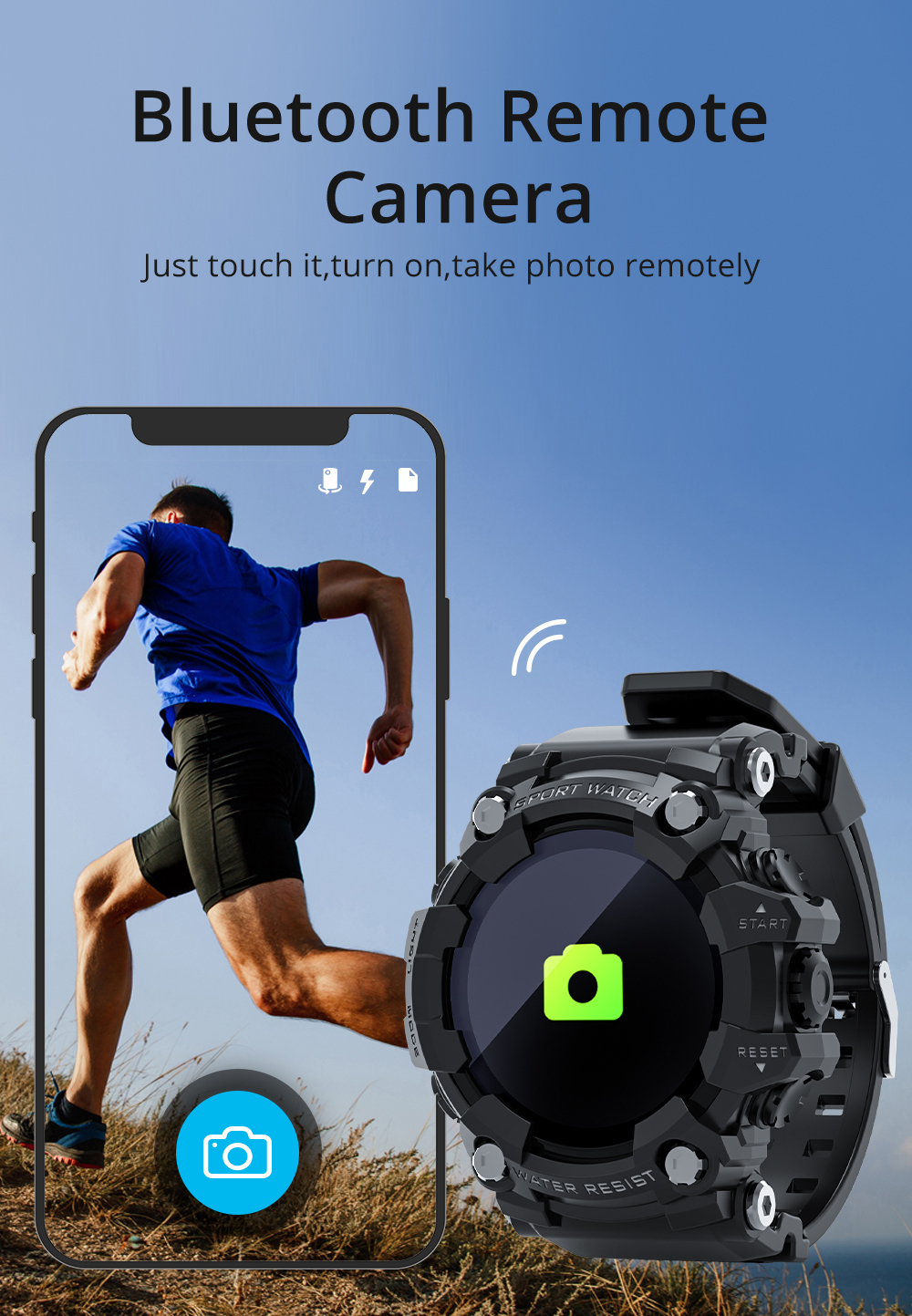 Hcd998954cf284a8e9c57de589b434b665 LOKMAT ATTACK Full Touch Screen Fitness Tracker Smart Watch Men Heart Rate Monitor Blood Pressure Smartwatch For Android iOS