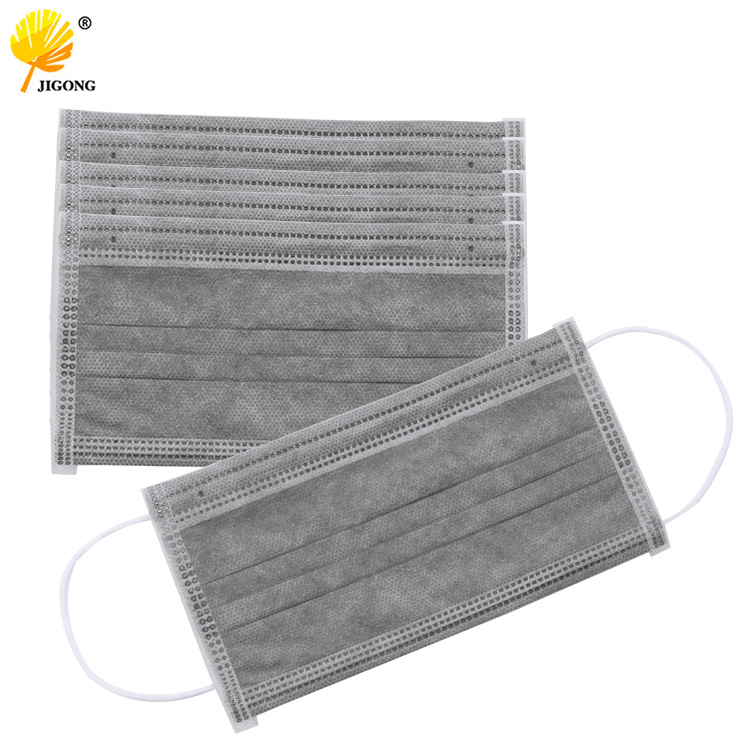 5pcs Dustproof Safety Breathable Mask Respirator Nail Dental Disposable Earrings Facial Hypoallergenic