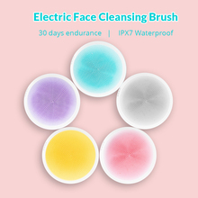 Xiaomi DOCO Electric Deep Face Cleansing Brush Silicone Ultrasonic Skin Scrubber Massager Powered Facial Cleansing Device