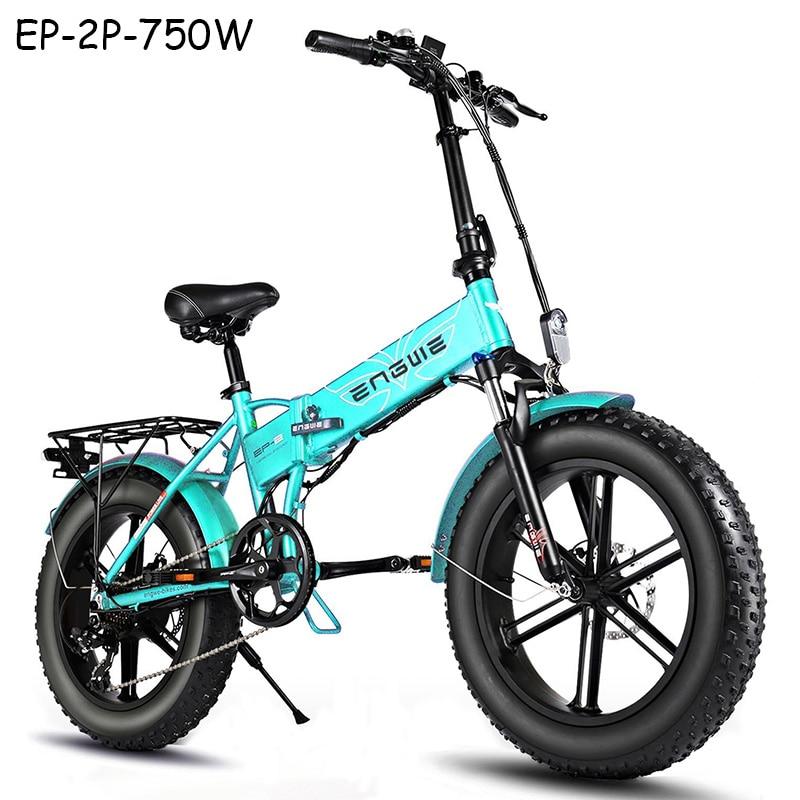 (EU stock) Электрический велосипед 750 Вт 45 км/ч мощный двигатель горный велосипед с толстыми шинами 48V12.8A Электрический велосипед 20*4,0 дюймов Снеж...