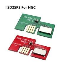 Wymienny Adapter karty Micro SD czytnik kart TF dla NGC SD2SP2 SDLoad SDL Adapter profesjonalny ładunek SDL
