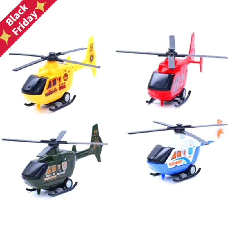 3 styles Planes Diecasts Vehicles Toy Kids Warplane Helicopter Model Airplane Toy For Children image