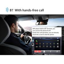 "7080B 7 ""doble 2 DIN coche reproductor MP5 Bluetooth pantalla táctil Radio Estéreo TF(China)"