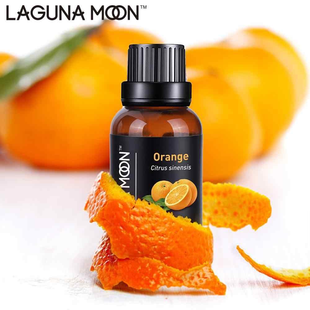 Lagunamoon 30ML 1OZ huiles essentielles pures humidificateur de Massage arbre à thé Orange citron citronnelle menthe poivrée huile d'eucalyptus essentielle