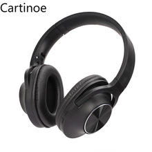 Bluetooth Headphones, Over Ear Wireless Headphones 40H Playtime aptX ReChargable Bluetooth 5.0 CVC 8.0 Mic for iPhone iPad, PC