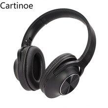 Bluetooth Hoofdtelefoon, over Ear Draadloze Hoofdtelefoon 40H Speeltijd Aptx Oplaadbare Bluetooth 5.0 Cvc 8.0 Mic Voor Iphone Ipad, Pc