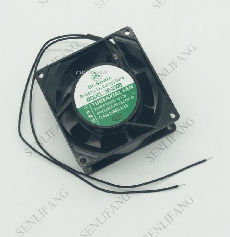Free Shipping 3E-230B 8038 AC220V Metal High Temperature Resistance Axial Cooling Fan