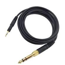 Câble de remplacement pour ATH-M50X audio-technica M40X M60X M70X casque 6.35mm 24BB