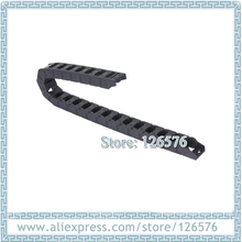 1 м увеличенная цепь черный цвет внутренний 15*30 мм нейлоновый мост Тип буксировочный провод Перевозчик с концевым разъемом