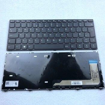 UK Laptop Keyboard For LENOVO IDEAPAD 110-14ISK 110-14IKB UK Layout цена 2017